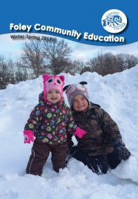 Foley Community Education Brochure - Winter 2017