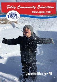 Foley Community Education Winter - Spring Brochure online. Dec. 8, 2018.