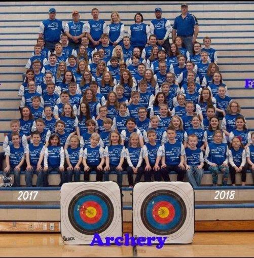 Foley Falcon Archery Team - March, 2018.