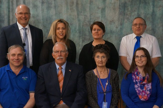 Foley School Board Members, 2018.