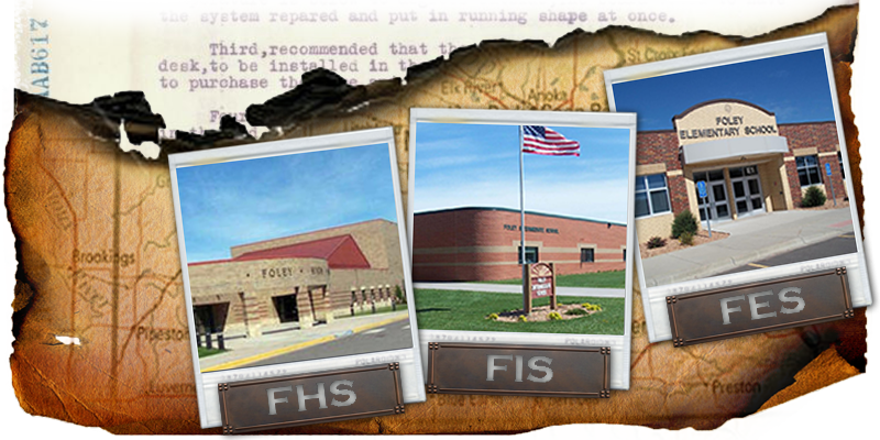 Our History, Our Story Image. Foley Schools, Foley, MN.  Feb., 2016.